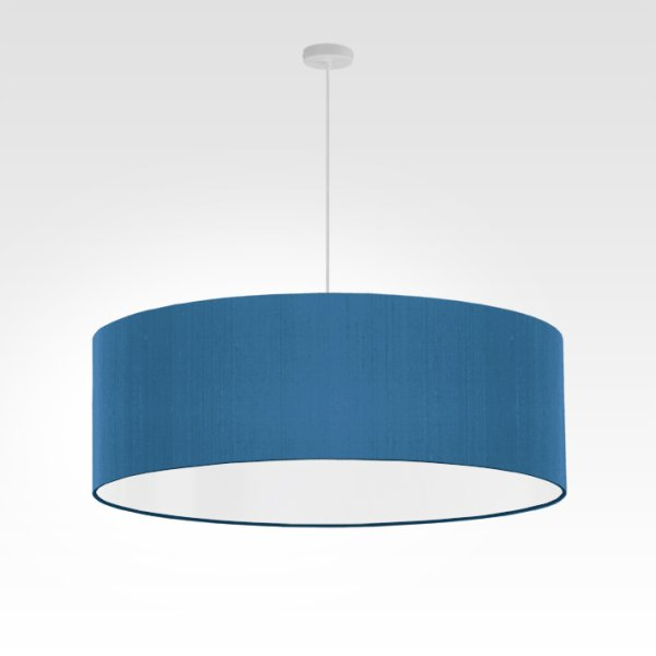 lampe suspension bleu
