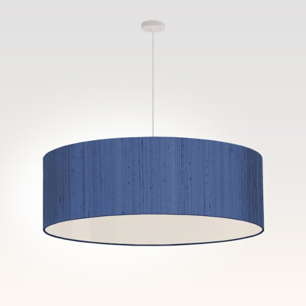 pendant light living room dark blue