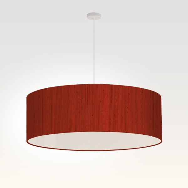 pendant light living room dark red