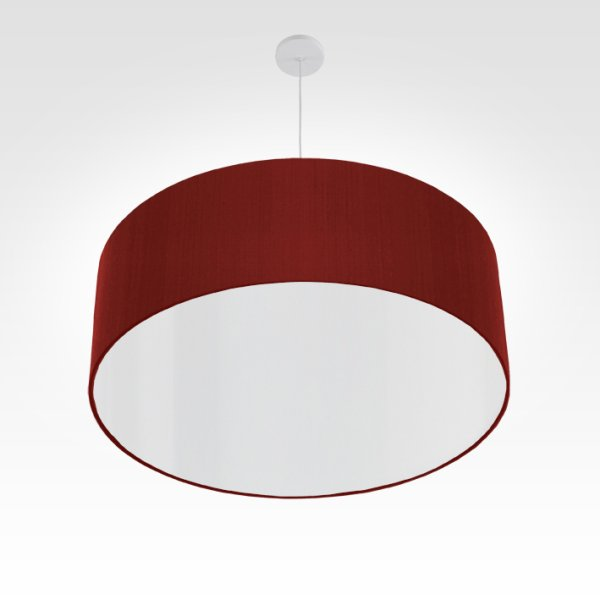 pendant lamp dining room dark red