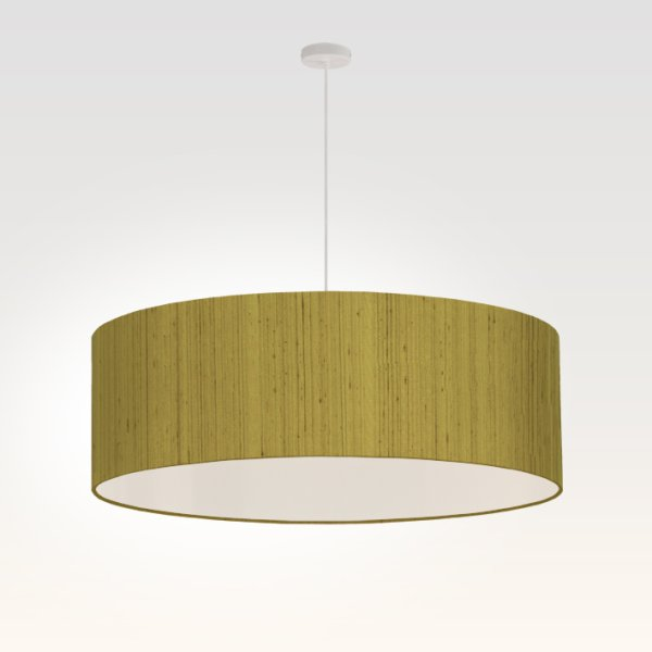 suspension pour salon vert olive brillant