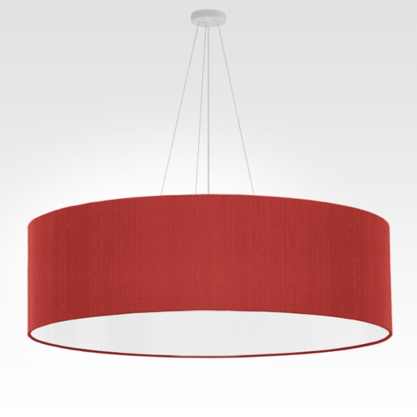 grande suspension rouge