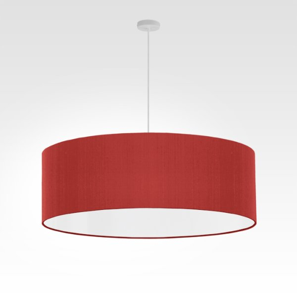 lampe suspension rouge