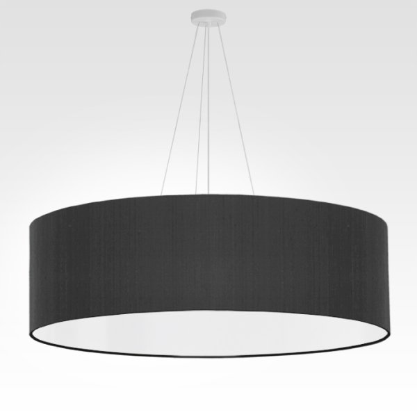 large pendant lamp black