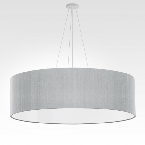 grande suspension gris argent
