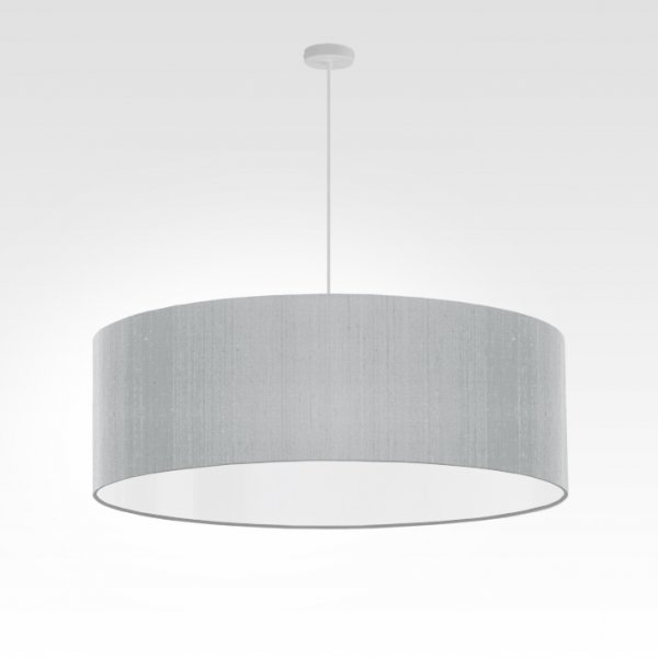 lampe suspension gris argent