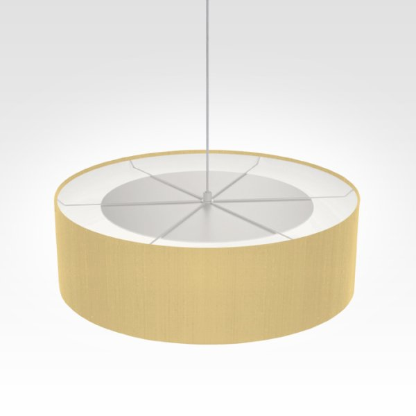 Suspension luminaire paille
