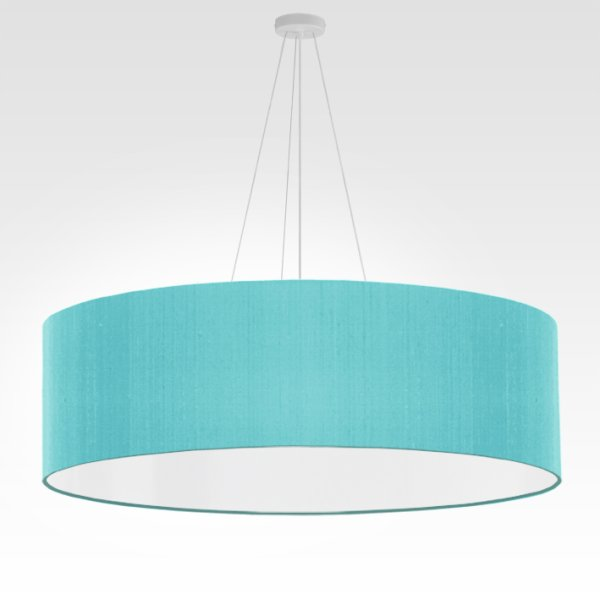 grande suspension turquoise