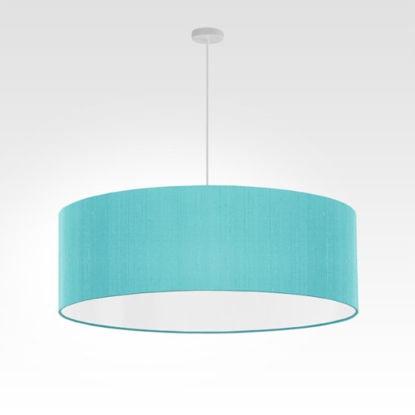 lampe suspension turquoise