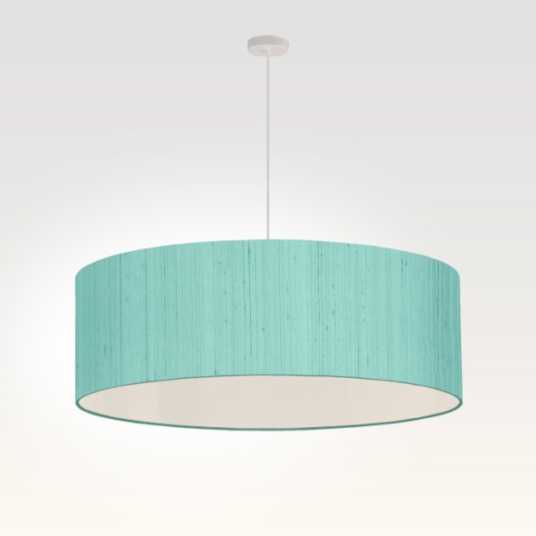pendant light living room turquoise