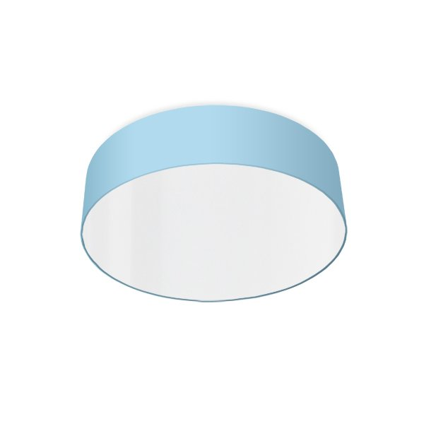 modern ceiling light led light blue
