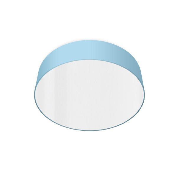 led ceiling luminaire light blue