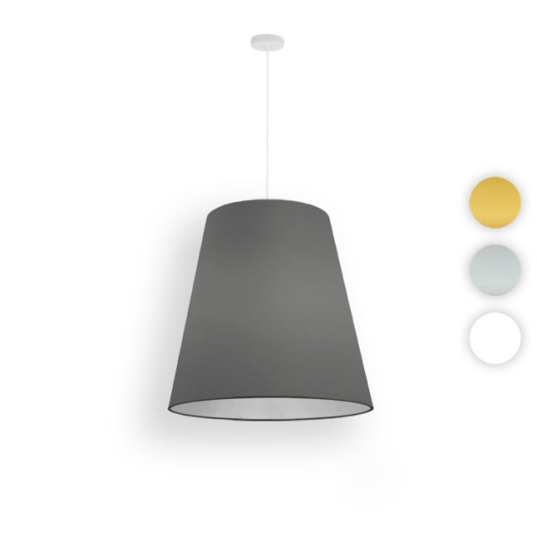 conique suspension led ø 40 cm