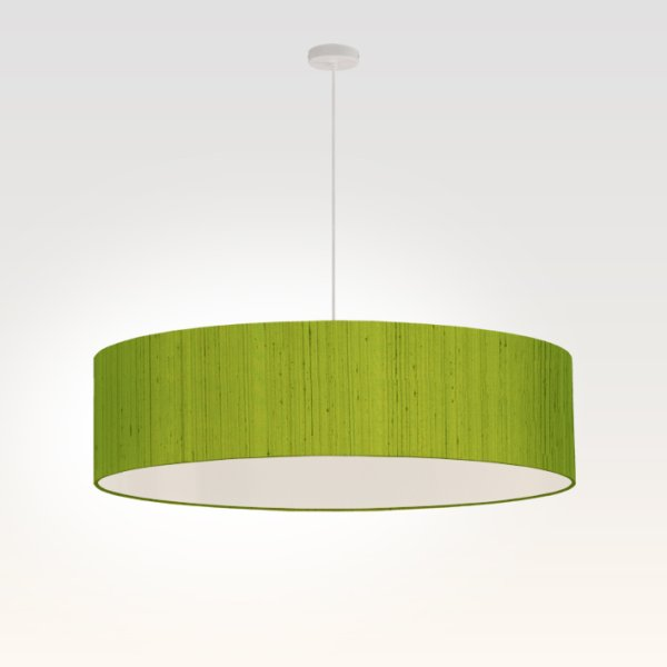Lamp shade pendant lamp green