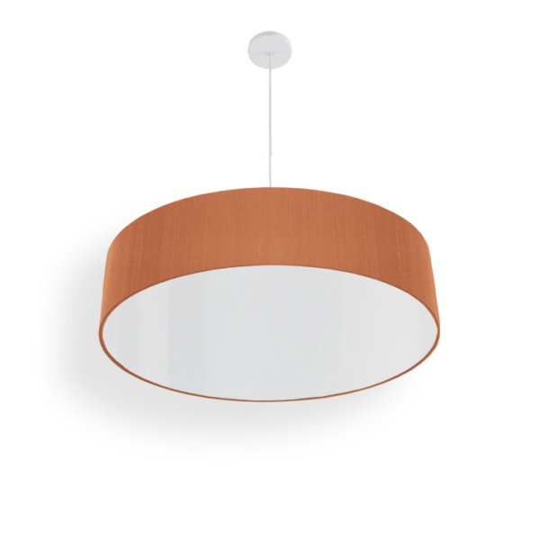 led living room light silk beige red