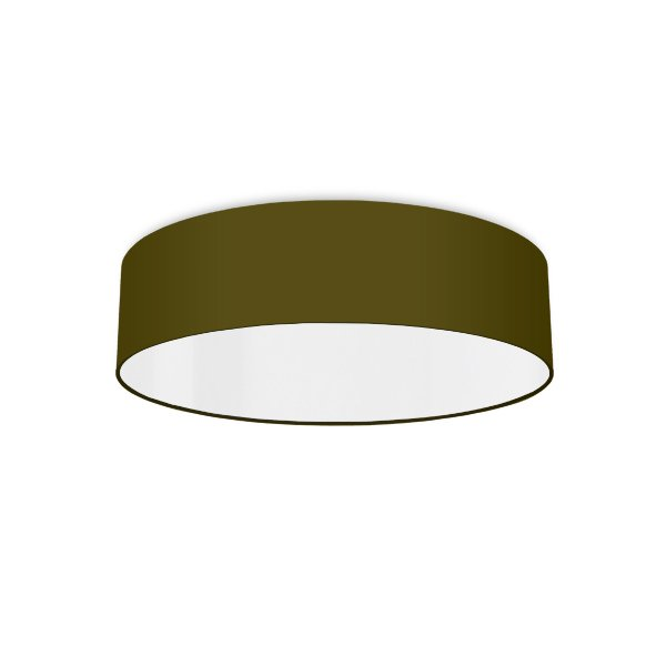 Ceiling luminaire olive-green