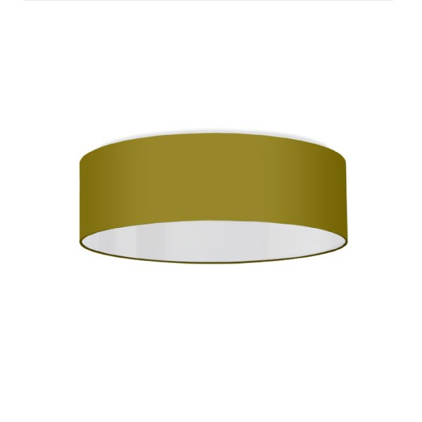 Ceiling lamp bright olive-green