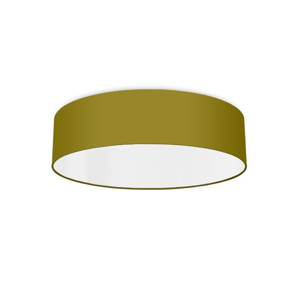 Ceiling luminaire bright olive-green