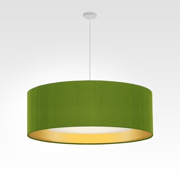 living room light gold diameter 70 cm green