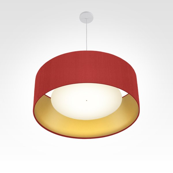 lampshade diameter 60 red