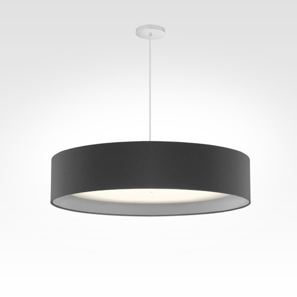 LED pendant light smart home -  black