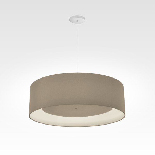 LED Designlamp beige gray