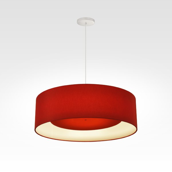 Suspensions Luminaires Design LED rouge