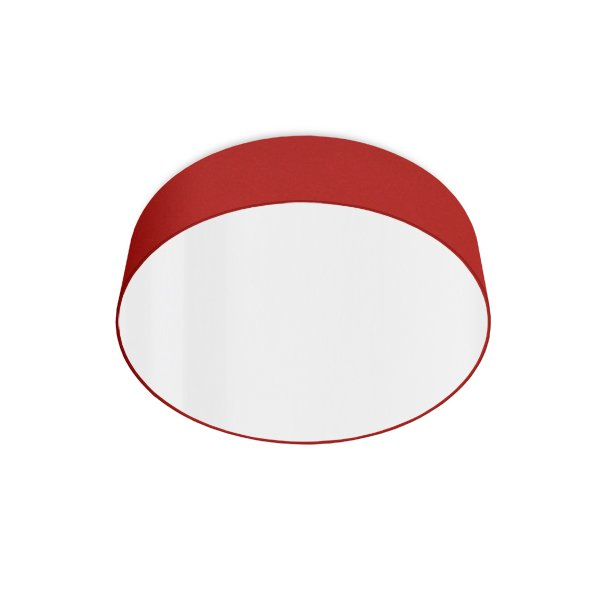 led ceiling luminaire red