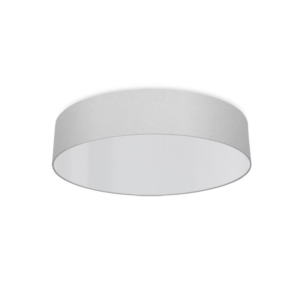round ceiling light living room silver