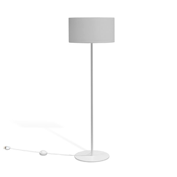 Floor Lamps - fabrics white
