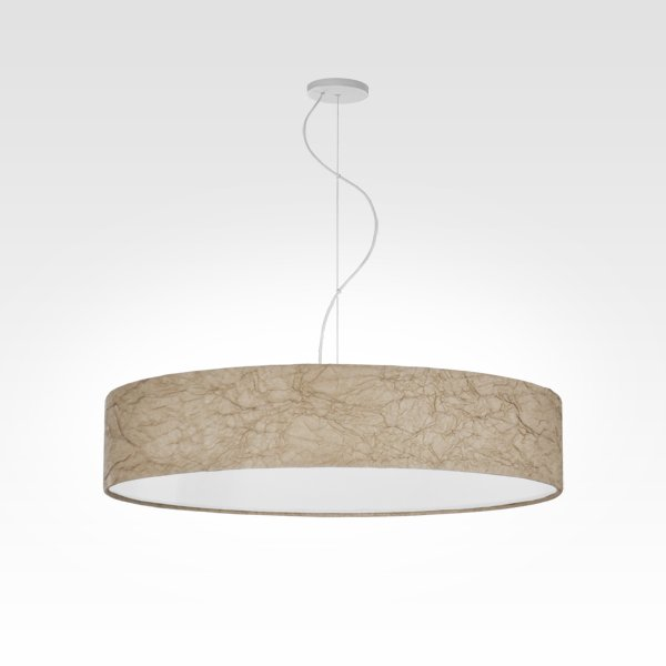 Design lamp LED pendant light ivory